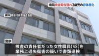 検査報告遅れ男児の容体悪化、病院職員を書類送検