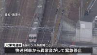 東海道線9時間半ストップ、パンタグラフ破損