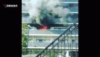 川崎市の7階建てマンションで火災、けが人なし