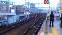 山陽新幹線が一時ストップ、JR岡山駅で人が線路に