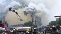 フィリピン・マニラでホテル火災、少なくとも4人死亡