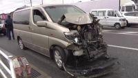 福岡・宇美町で衝突事故、子ども含む12人が病院へ