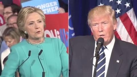 アメリカ大統領選、両候補最後の訴え