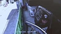 車を盗もうとした疑いで逮捕、防犯カメラに犯行の一部始終