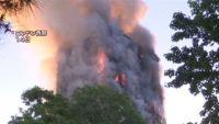 英高層住宅火災、火元は冷蔵庫