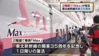 東北新幹線開業35周年、2階建て「Max」が復活