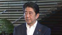 安倍首相、弾道ミサイル発射を受け会見(全録)