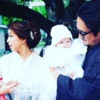 """窪塚洋介&PINKY 家族写真に「こんなにカッコいい""""お宮参り""""初めて見た」"""