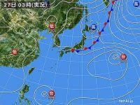 27日 東海以西 厳しい蒸し暑さに