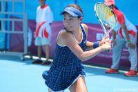 テニス競技が開幕、筑波大3年の牛島里咲が初戦突破 [台北ユニバーシアード]