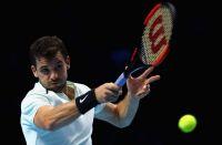 ディミトロフが逆転で決勝進出、世界ランキング3位確定[ATPファイナルズ]