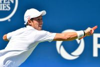 【速報】錦織圭、復帰戦の第2セットは6-3で取り返す[ATPチャレンジャーニューポートビーチ]
