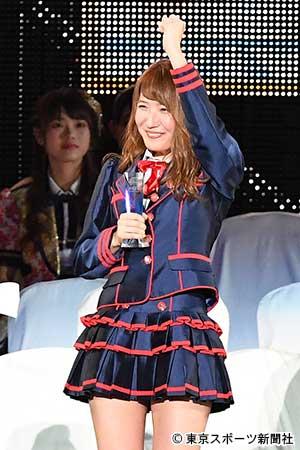 【AKB48世界選抜総選挙】SKE48内山命 10回目の挑戦でついに42位ランクイン