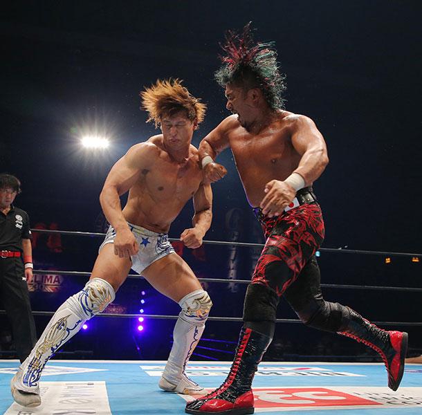 【新日本・G1】前年度覇者・飯伏が鷹木に敗れ2敗も「逃げない、負けない、諦めない」