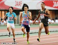 """【陸上日本選手権】男子100メートルで10秒06連発!""""第5の男""""サニブラウン覚醒の理由"""