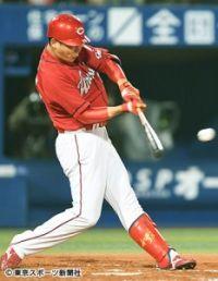 広島・新井 逆転打で3500塁打達成