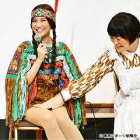 宮澤佐江 超ミニスカ衣装にドキドキ「お尻が出ないか心配」