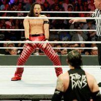 【WWE】中邑真輔 PPV大会で宿敵コービンに無念の反則勝ち