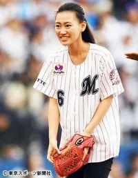 ロッテ・井口引退試合で長女・琳王さんが始球式「うれしかった」