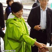 """【衆院選】小池VS石原 因縁拡大!""""握手暴行""""騒動も勃発"""