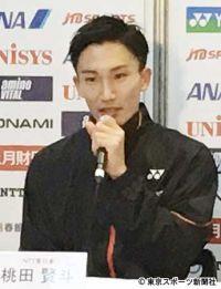 桃田賢斗 バドミントン全日本選手権初戦突破「声援のおかげ」