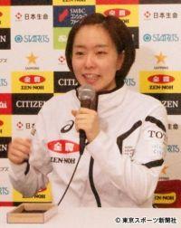 【全日本卓球】石川佳純が逆転勝利で4強入り「強気で攻めることができた」