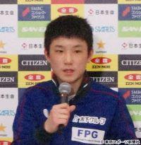 【全日本卓球】張本智和が史上最年少でシングルス4強