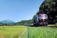 「ななつ星in九州」定期検査が終了 代替ルートで2か月ぶり運行再開