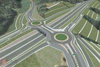 「ラウンドアバウト」なぜふたつ? 日本初、高速道路ICで 逆走防止効果も?