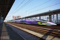 500系「エヴァ新幹線」5月に運行終了 京都鉄道博物館で特別展開催