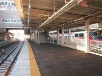知立駅の名古屋本線上り6番線が仮線に 高架化工事で切り替え 名鉄