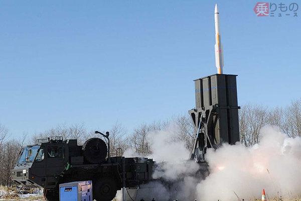 沖縄配備か陸自最新の地対空ミサイル「03式中SAM改」その性能は 守備能力どう上がる?