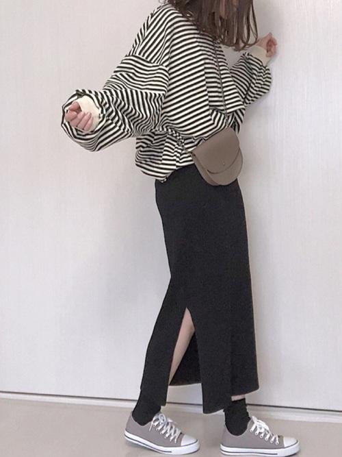 ea64fbf4f7020 即こなれる♡ぶかっとトップス×ピタッとスカートのバランスがかわいい - ローリエプレス