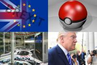 2016年の経済イベント振り返り 1月~12月、ポケモンGOヒット、Brexit、米大統領選……