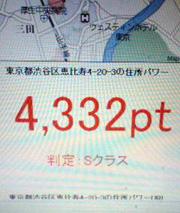 あなたの住所パワーはどれくらい?