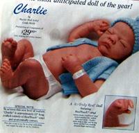 本物そっくり!生後2週間の新生児人形