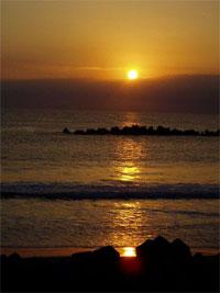 日本で一番早く初日の出が見られる「清澄山」