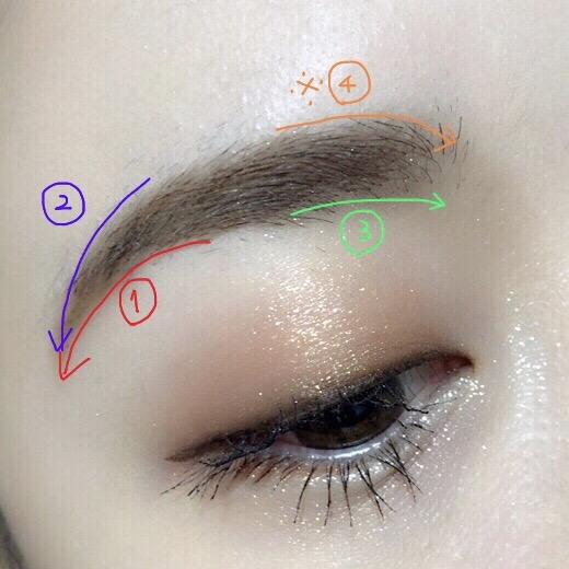 眉毛の書き方をマスター!  超簡単な眉毛の描き方のコツ♡【保存版】