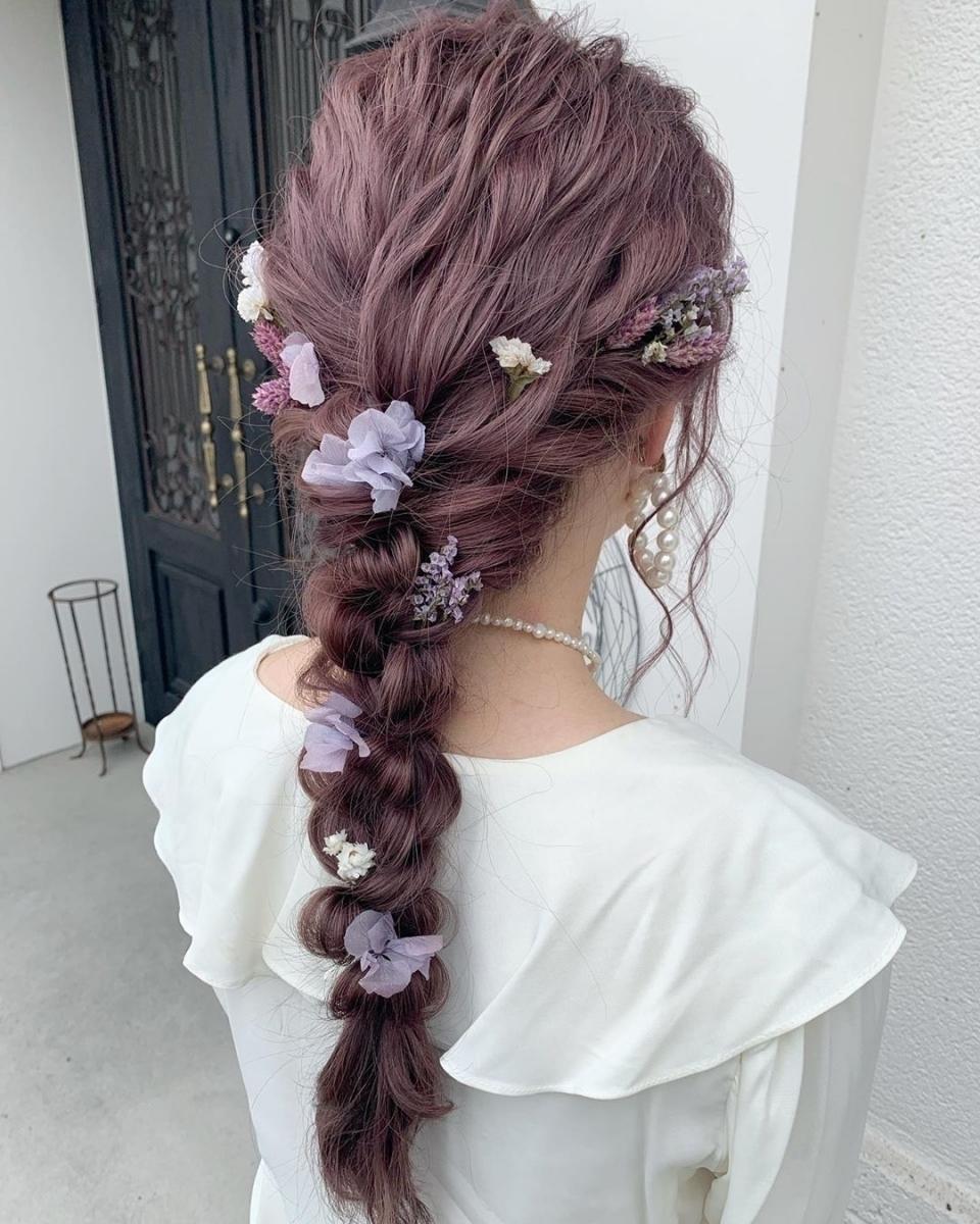 髪型 卒業 式