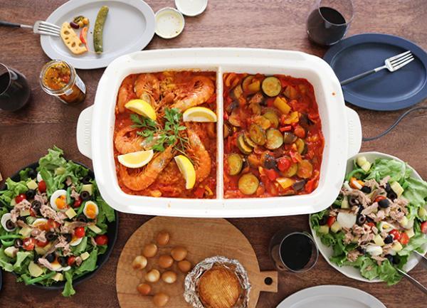 ホームパーティーを彩るメイン料理。 華やかさ、美味しさ、栄養バランスも大切ですが、何よりゲストもホストも楽しみながら仕上げられることが重要です。