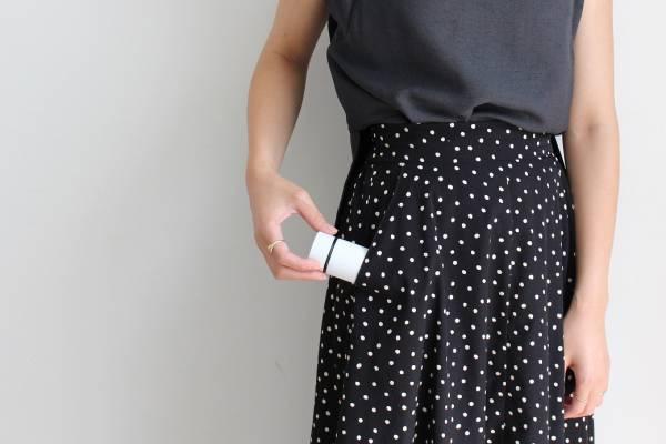 スマホ感覚で持ち歩く、小さな水筒「ポケトル」。