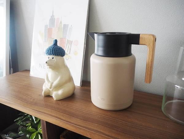 麦茶置きっぱなしも絵になる「リバースサーモジャグ」で、この夏水分補給を快適に