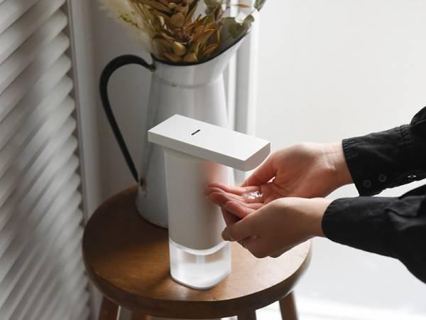 【インスタグラマーさんの使用レポ】手洗い・消毒がスムーズになる「±0のオートディスペンサー」