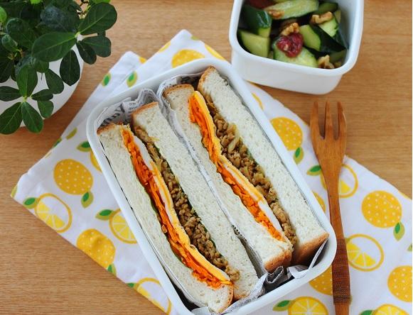 サンドイッチ横