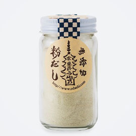 塩分ナシで朝に嬉しい♪ 使いやすい、利尻昆布の「粉だし」