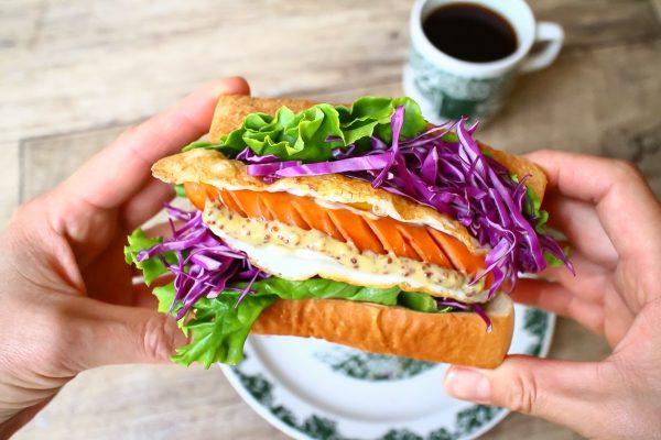 作り方も食べ方も簡単♪お手軽「折るだけ!サンド」
