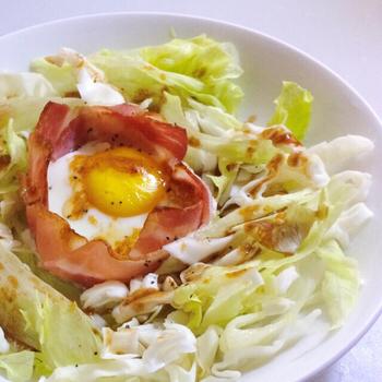 女子朝ごはんにぴったり!「ボリューム満点サラダ」レシピ5選