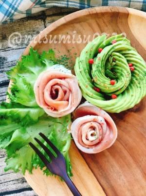サラダや付け合わせに!生ハムのお花by;Misuzuさん