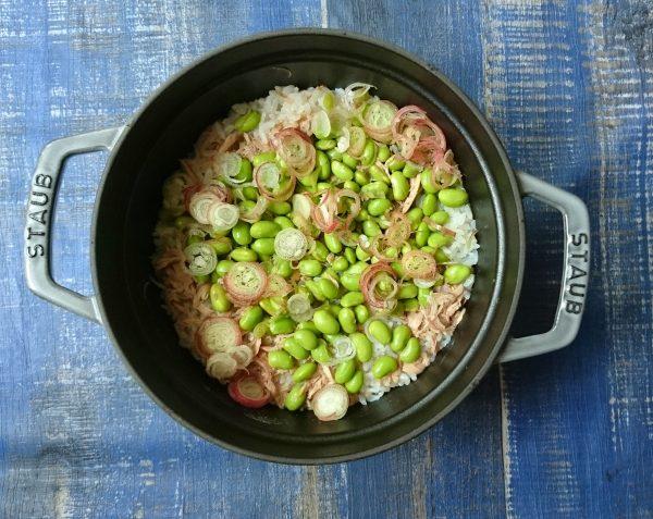 農家さん直伝!枝豆のおいしい「ゆで方」と「炊き込みごはん」レシピ♪by:村山瑛子さん