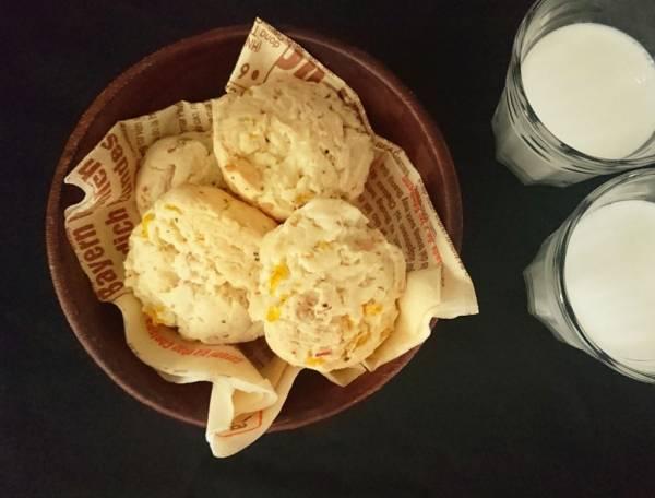 ピリッと大人味!ホットケーキミックスで楽ちん「チーズとベーコンのスコーン」by:村山瑛子さん